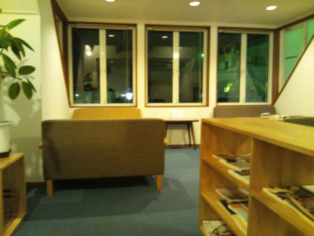 店内2階ソファ席