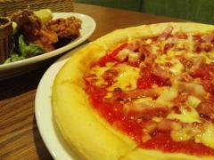 ピザ&唐揚げ