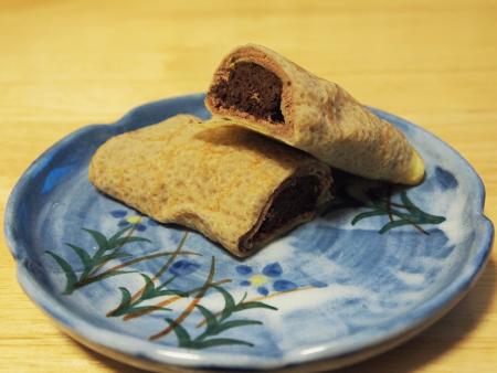 チョコクリームとブラウニーがたっぷり!
