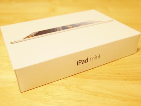 iPad mini!小さいです!