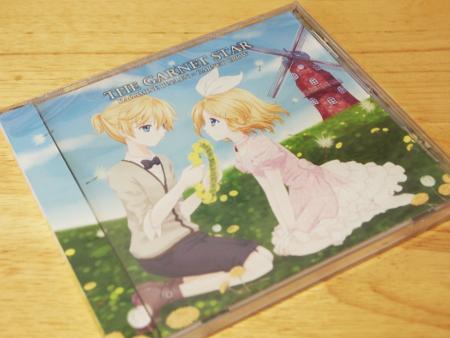 CD「THE GARNET STAR」フロントジャケット(表面)